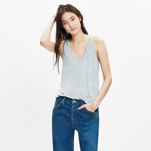 Madewell Anthem Scoop Tank Top